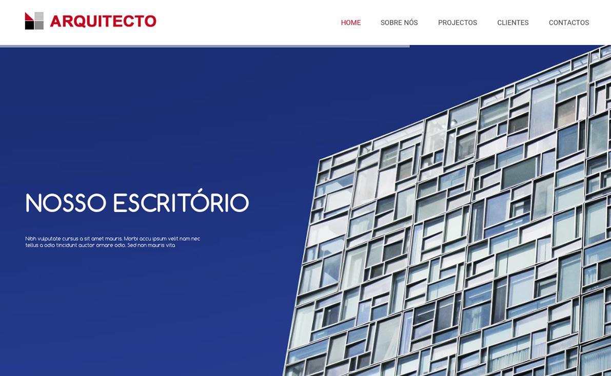 Website para arquitecto
