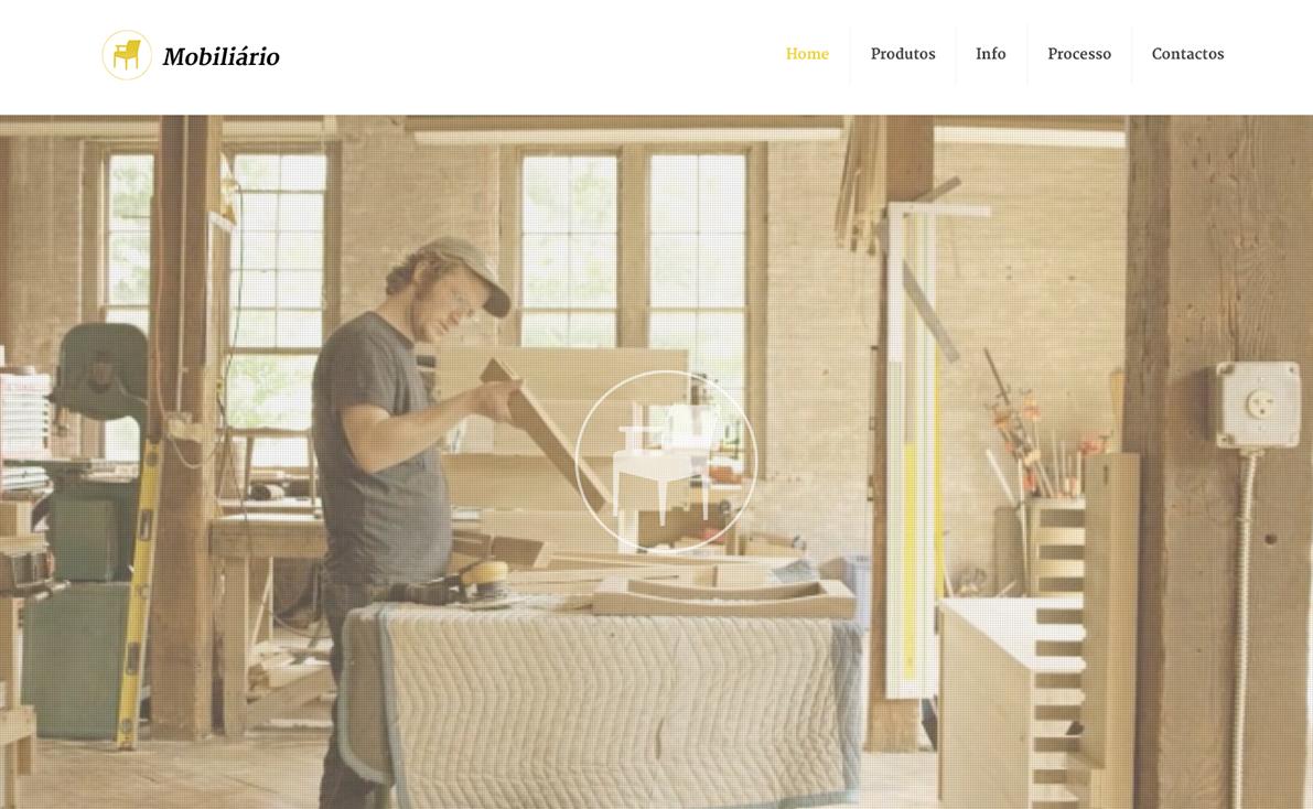 Website para mobiliário