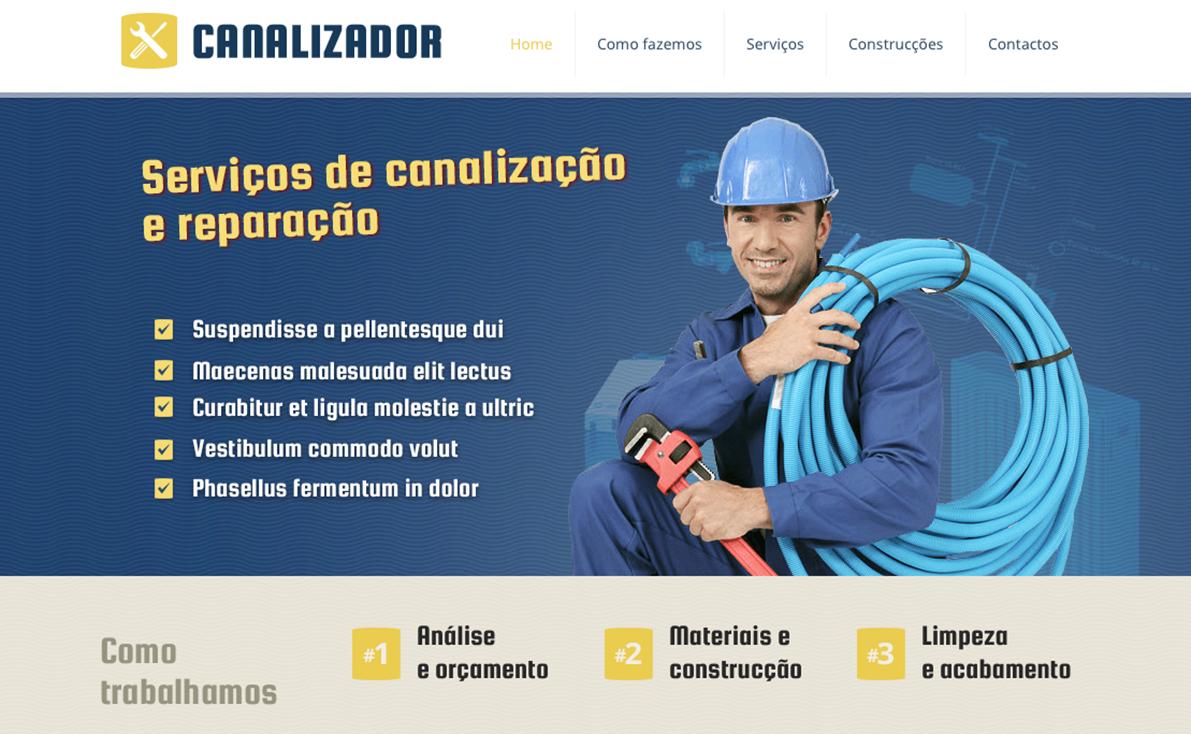 Website para canalizador