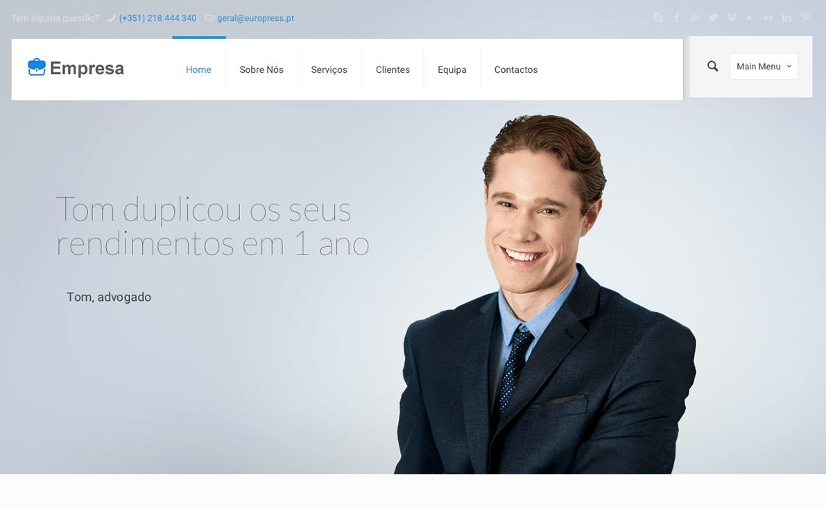 Website para empresa